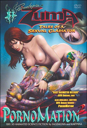 Cherry Boxxx - Зума - сексуальный гладиатор / Pornomation 2: ZUMA tales of a sexual gladiator (2006) DVDRip-AVC